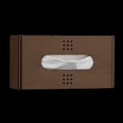 One Bronze Tissue Dispenser