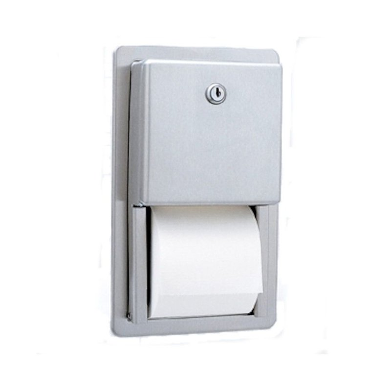 Recessed Toilet Roll Dispensers