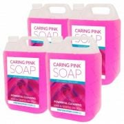 Caring Pink Soap 5L x4